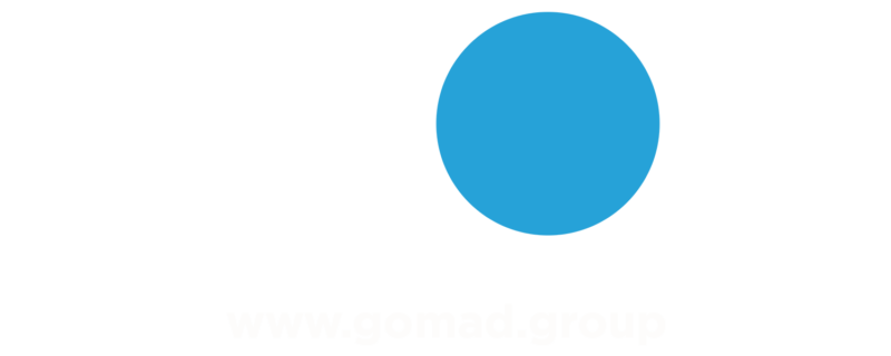GoMad logo frontpage