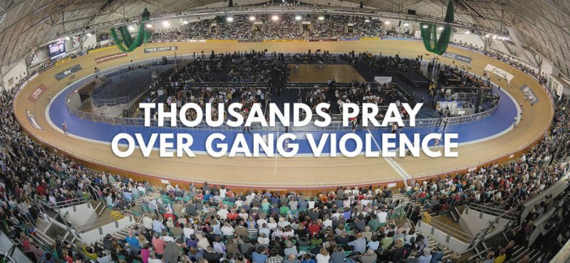 Thousands Pray Over Gang Violence