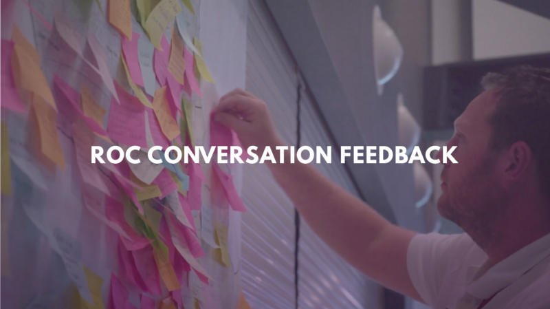 ROC CONVERSATION – WHAT THEY SAY